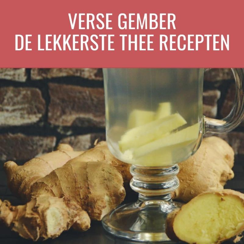 Gember thee recepten 800 x 800